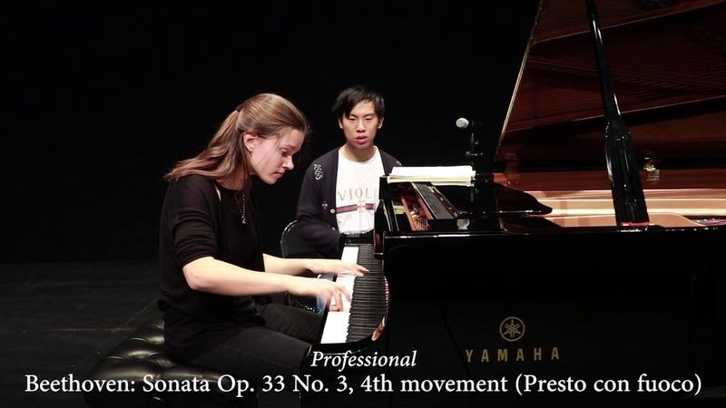 Professional vs Beginner Pianist