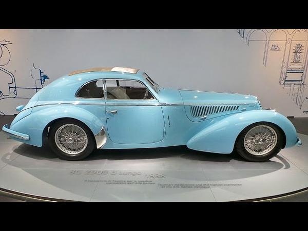 Alfa Romeo 8C 2900 B Lungo, Alfa Romeo Museum, Arese, Lombardy, Italy, Europe