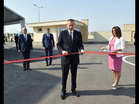 Prezident İlham Əliyev Balaxanı Sənaye Parkının açılışında iştirak edib