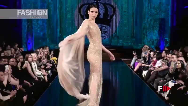 WILLFREDO GERARDO NYFW Art Hearts Fashion Fall 2018 2019 - Fashion Channel
