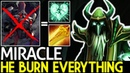 Miracle Necrophos He Burn Everything with Radiance 7 18 Dota 2