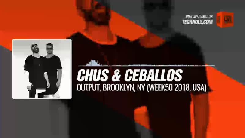 @chusceballos - Output, Brooklyn, NY (WEEK50 2018, USA) Periscope Techno music