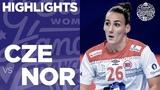 Czech Republic vs Norway Women's EHF EURO 2018