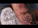 мастер класс Simzikov Sergey как делать татуировку