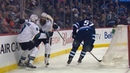 Joe Pavelski buries feed from Burns to tally OT winner shorthanded
