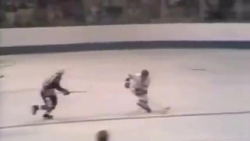 Знаменитый гол Валерия Харламова. СССР-Канада 1974 г