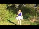 Короткая пышная юбка солнце повседневная скрывающая бедра и подчеркивающая талию С чем носить