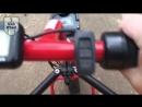 UNA WHEEL Электроприставка - электропривод для кресел-колясок. Лесная грунтовая дорога, песок и гравий.