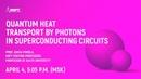 Jukka Pekola: «Quantum Heat Transport by Photons in Superconducting Circuits»