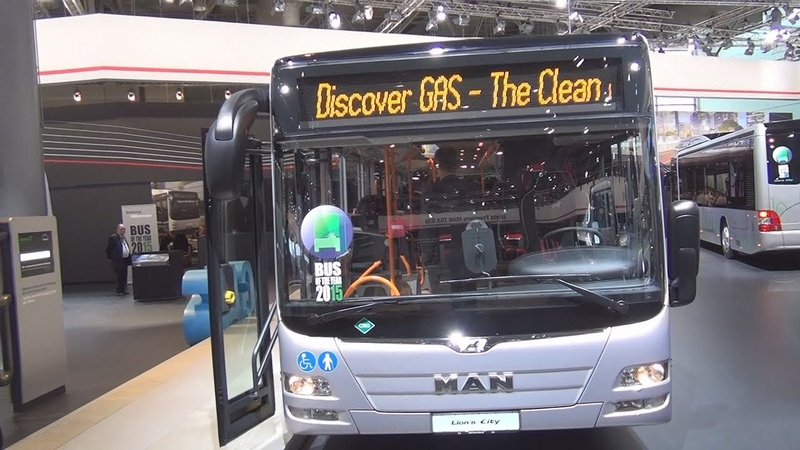 MAN Lion's City L LE CNG Bus Exterior and Interior