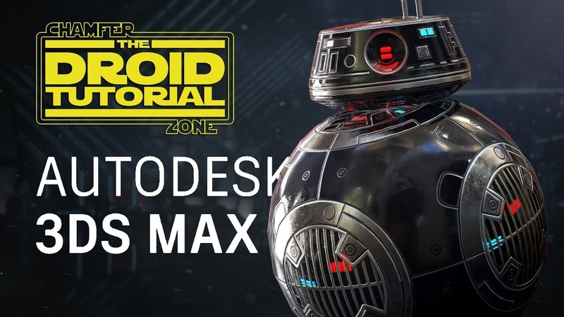 Star Wars Droid Tutorial - Part 1 - Modeling UV Unwrapping - 3Ds Max