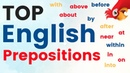 Learn English Prepositions Most Important English Vocabulary Lesson IN AT ON ABOVE ABOUT