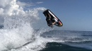 Freestyle and jumps on Jet ski Трюки на водном мотоцикле