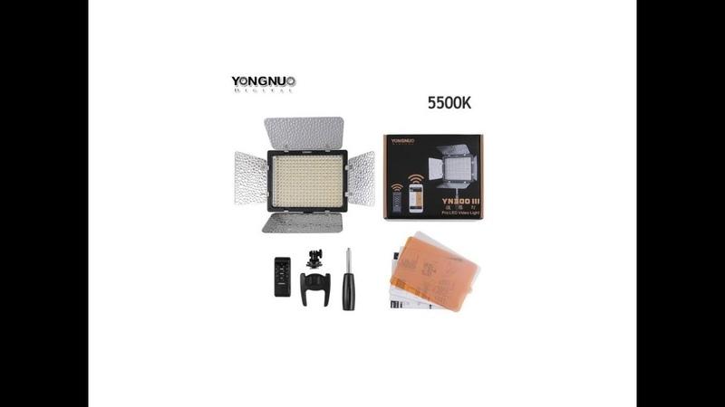 Лучший свет Yongnuo YN300 III с AliExpress