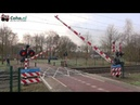 Spoorwegovergang Rijen (NB) 😍4K😍 Dutch Railroad crossing