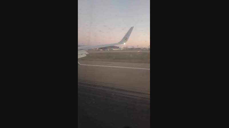 Приземления в аэропорту Сочи