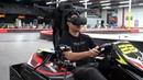 Real Life VR GO KART RACING