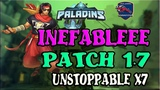 inefableee Shalin Ranked - Patch 1.7 - UNSTOPPABLE X7 - Paladins Competitive #27102018