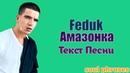 Feduk - Амазонка / Текст / Lyrics