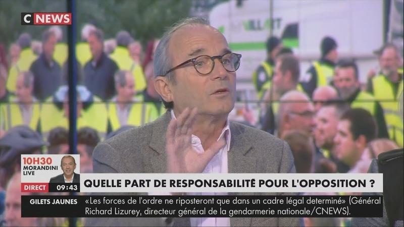 Rioufol sur les Gilets Jaunes : «S'il n'y avait pas eu de violences, le pouvoir n'aurait pas reculé»