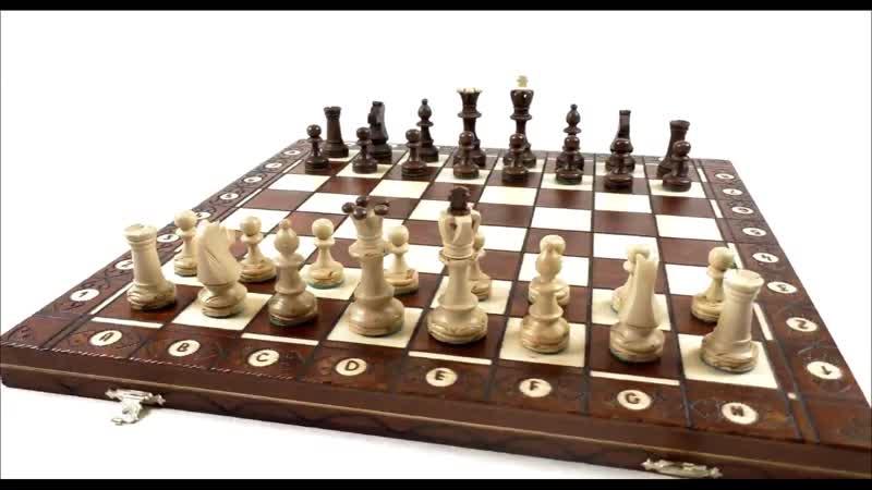 Видео обзор шахмат Сенатор производство Польша. Размер в упаковке (см) 41/20.5/5