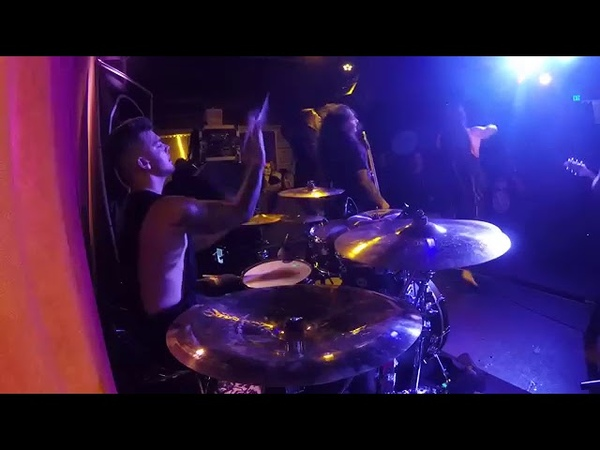 A Trigger Within - A Time to Kill (Live @The Slidebar 28.10.2018, drum cam)