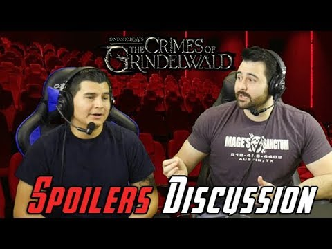 Fantastic Beasts The Crimes of Grindelwald Spoilers Discussion