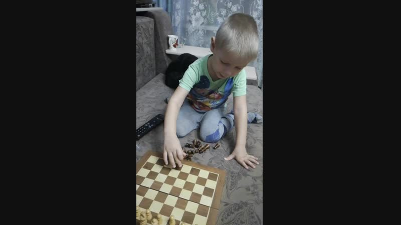 Саня и шахматы