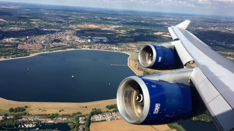British Airways   747-400   London Heathrow ✈ Phoenix, AZ (Sky Harbor)   World Traveller Plus  