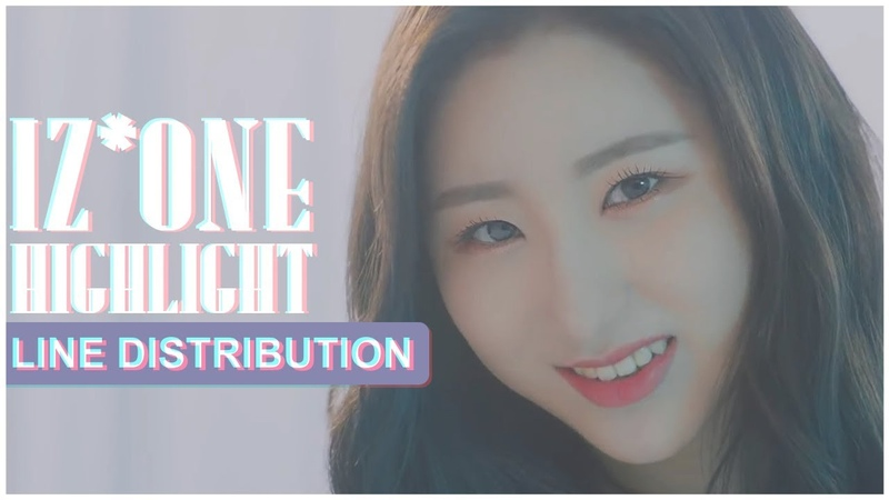 IZ*ONE HIGHLIGHT [LINE DISTRIBUTION]