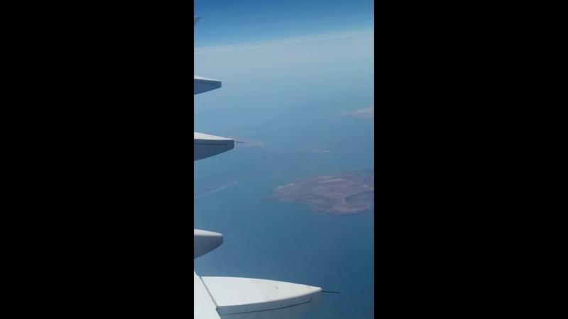 Керчь и мост с высоты полёта.mp4