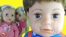 БЕБИ БОН Старший БРАТИК Почему ПЛАЧЕТ Играем в куклы пупсики как МАМА Обзор игрушки BABY BORN