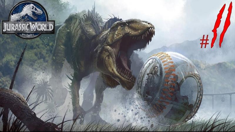 Бесячий дино и хищники • Jurassic World Evolution