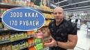 Алексей Кирпиченко Бюджетный бодибилдинг Корзина продуктов