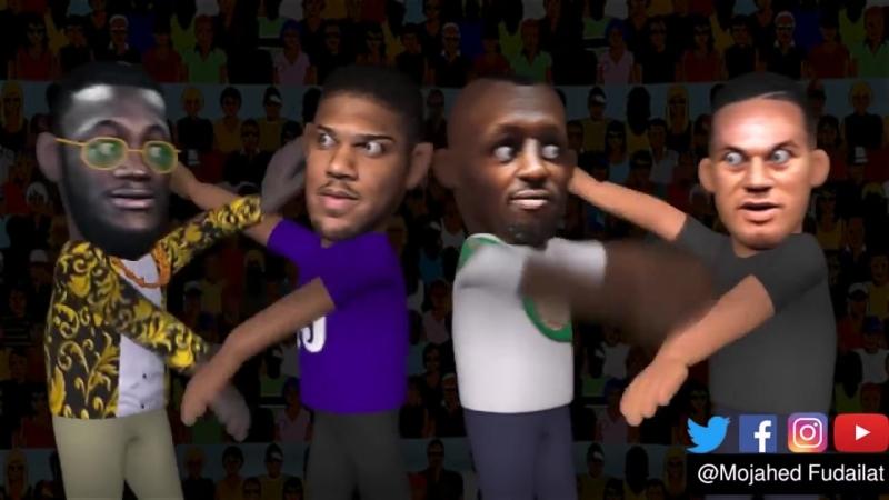 Tyson Fury VS Sefer Seferi Highlights! (3D-анимация)