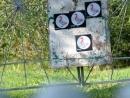 Проба стрельбы по мишени 20м