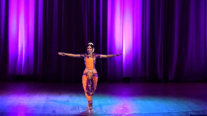 Diwali Night 2017 Bharatanatyam performance by Shriya Srinivasan