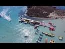 Лучший пляж Европы Nissi Beach в 4K на Mavic Pro