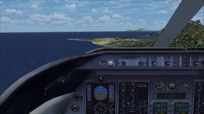 Worlds Shortest Runway! _FSX_ ( 720 X 1280 60fps ).mp4