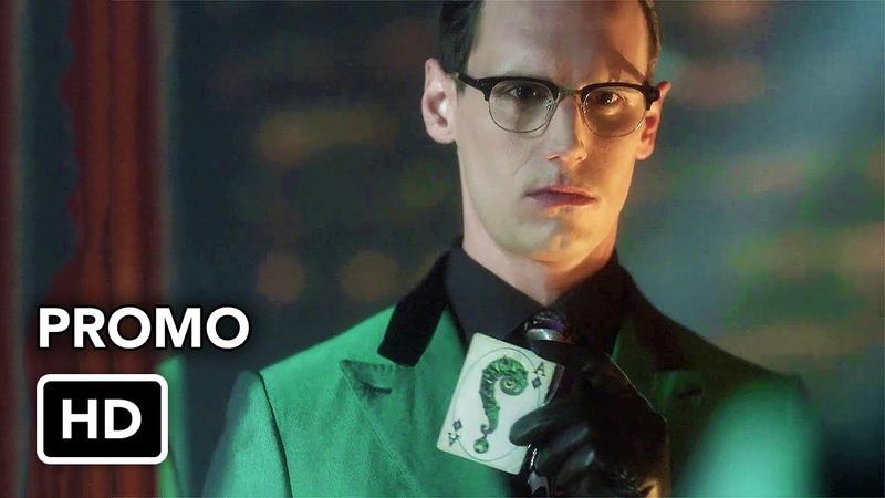 Gotham Season 5 The Riddlers Recording Promo (HD)