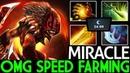 Miracle- [Bloodseeker] OMG Speed Farming 7.19 Dota 2