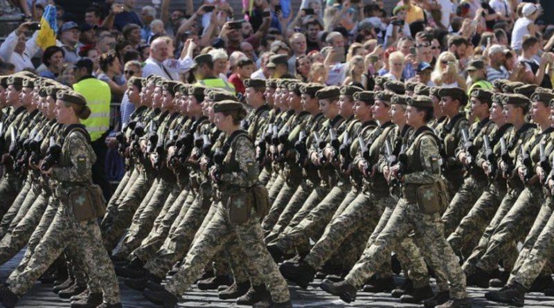 Российский эксперт о параде в Киеве: «Парад потряс Москву от хохота»