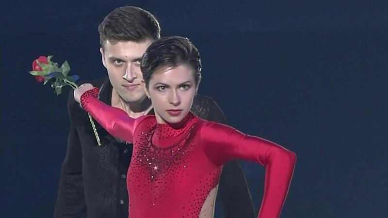 Наталья Забияко Александр Энберт Показательные выступления NHK Trophy