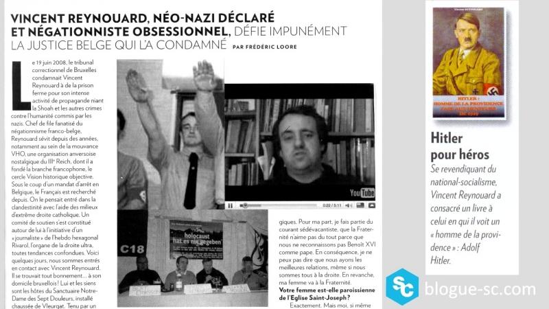 Itinéraire idéologique d'un national-socialiste contemporain (présentation)