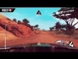 Ралли в Кении в новом геймплейном трейлере игры V-Rally 4!