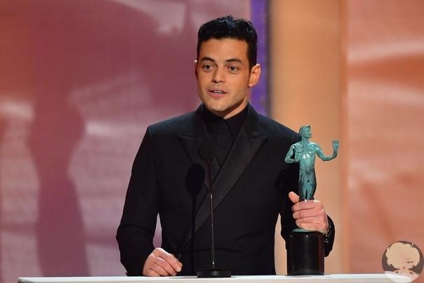 Рами Малек посвятил свою награду на SAG Awards 2019 Фредди Меркьюри