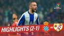 Highlights RCD Espanyol vs Rayo Vallecano (2-1)