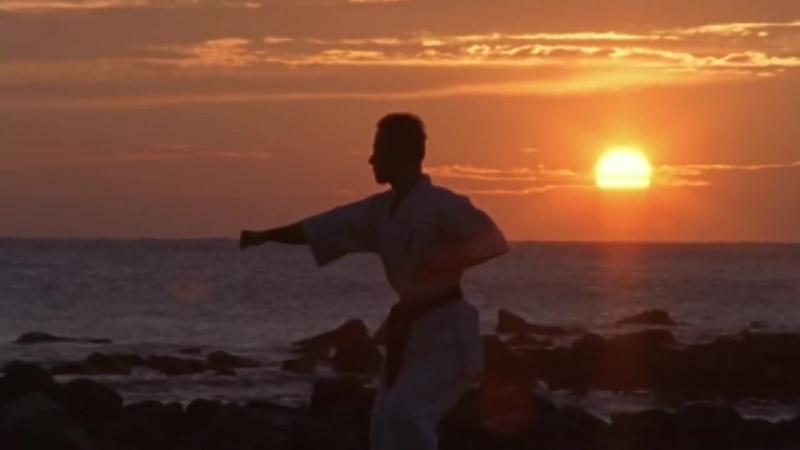Burning hand Trailer of Karate movieKuro obi炎の手刀!空手映画「黒帯」予告編