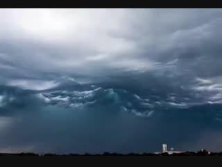 Облака волнуются над Кентукки