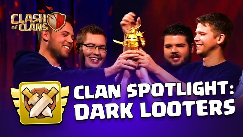 Clan War Leagues - Clan Spotlight - Dark Looters Are Back! |Sc studio